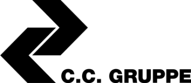 Logo C.C. Gruppe schwarz groß