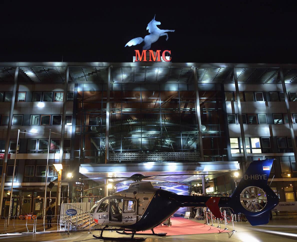 MMC Filmstudio Köln Gebäude