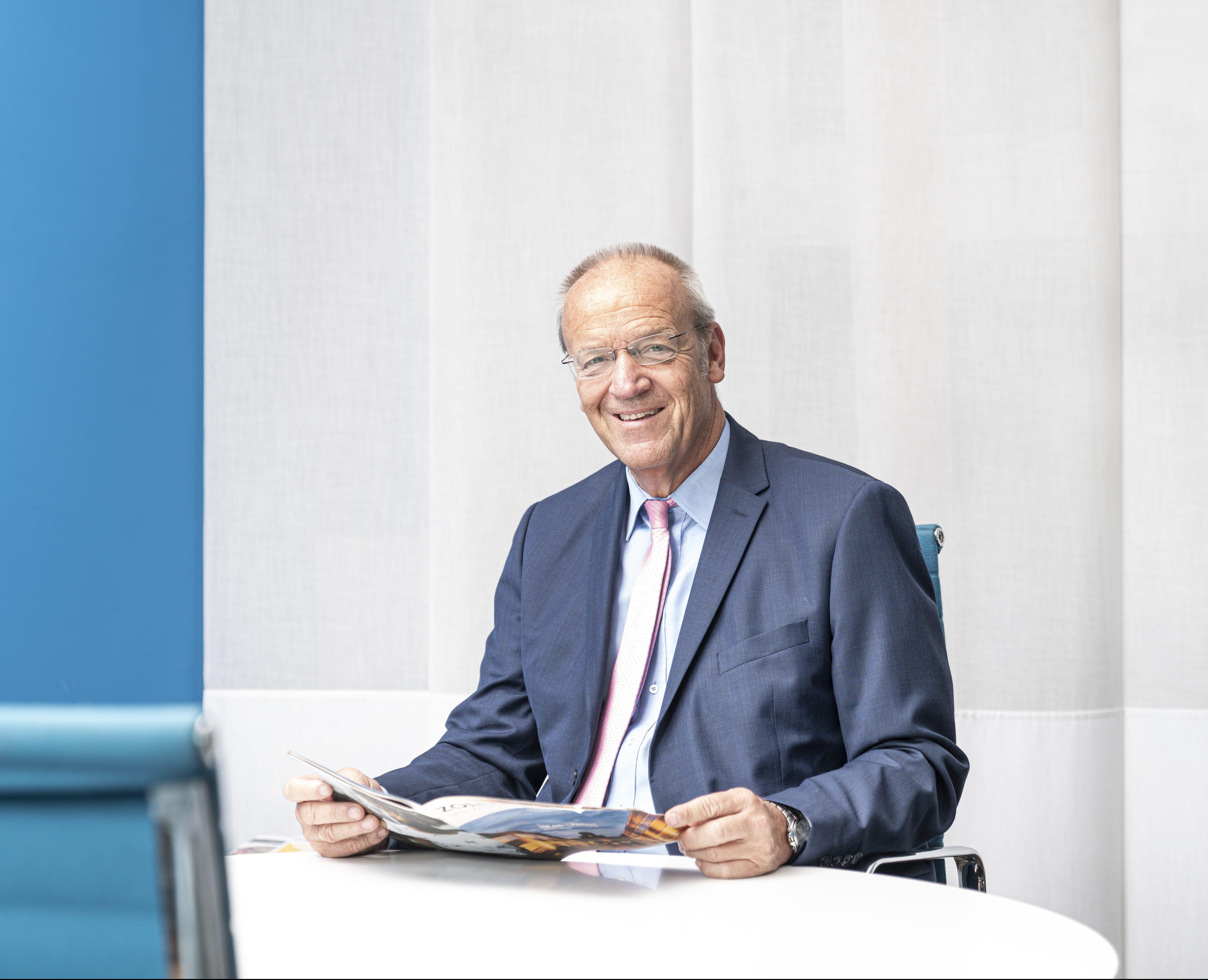 Dieter Kerstings Geschäftsführer der C.C. Gruppe
