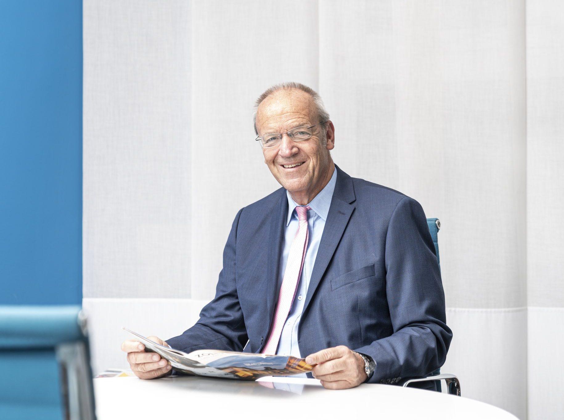 Dieter Kersting, Geschäftsführer der C.C. Gruppe