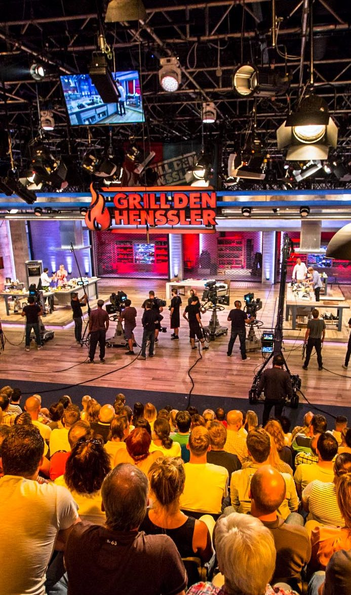 TV Show in den MMC Studios
